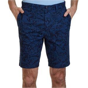 Nautica men's Printed Casual Chino Shorts SZ 40W